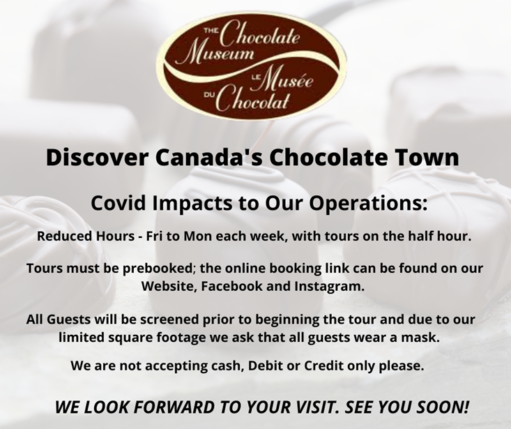 Chocolate Museum Covid